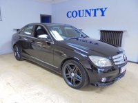 USED 2008 08 MERCEDES-BENZ C CLASS 3.0 C320 CDI SPORT 4d AUTO 222 BHP * SUPERB SPEC * WITH HISTORY *