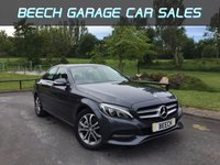 2014 MERCEDES-BENZ C CLASS 2.1 C220 BLUETEC SPORT 4d AUTO 170 BHP £SOLD