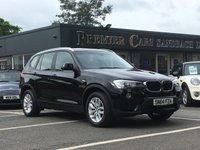 2014 BMW X3 X DRIVE 20D SE AUTO £22990.00
