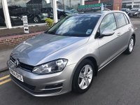 USED 2014 64 VOLKSWAGEN GOLF 2.0 MATCH TDI BLUEMOTION TECHNOLOGY 5d 148 BHP