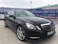2012 MERCEDES-BENZ E CLASS 2.1 E250 CDI BLUEEFFICIENCY SPORT 4d AUTO 204 BHP £13000.00
