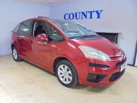 USED 2008 57 CITROEN C4 PICASSO 1.8 5 VTR PLUS I 16V 5d 124 BHP * TWO OWNERS WITH HISTORY *