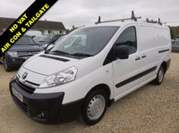 2014 TOYOTA PROACE 2.0 L2H1 HDI 1200 LWB 128 BHP AIR CON + ELECTRIC PACK 23136 MILES REAR TAILGATE £11995.00