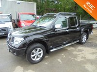 2007 NISSAN NAVARA 4x4 Double Cab 2.5 DCi AVENTURA AUTOMATIC*FULLY LOADED* £6995.00