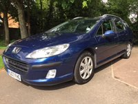 USED 2007 07 PEUGEOT 407 1.6 SW S HDI 5d 108 BHP