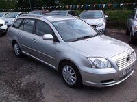 USED 2004 54 TOYOTA AVENSIS 2.0 T2 D-4D 5d 114 BHP SPACIOUS  FAMILY CAR WITH EXCELLENT SERVICE HISTORY, GREAT SPEC, DRIVES SUPERBLY