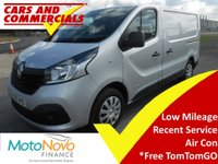 2015 RENAULT TRAFIC SL27 BUSINESS + PLUS 115ps £10995.00