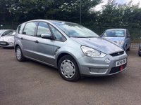 USED 2008 58 FORD S-MAX 1.8 LX TDCI 6SPD 5d PART EXCHANGE TO CLEAR, 7 SEATS PART EXCHANGE TO CLEAR