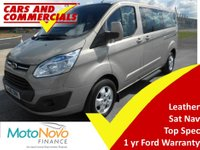 2015 FORD TOURNEO CUSTOM 300 L2 TITANIUM 125ps 9-Seats £15425.00