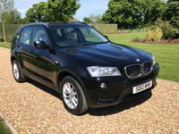USED 2012 12 BMW X3 2.0 XDRIVE20D SE 5d AUTO 181 BHP LEATHER, PARK ASSIST