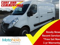 2015 RENAULT MASTER LWB LM35 BUSINESS 125ps £10995.00