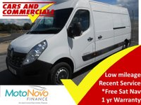 2015 RENAULT MASTER LWB LM35 BUSINESS 125ps £10500.00