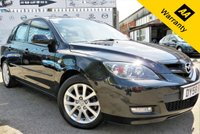 USED 2008 58 MAZDA 3 1.6 TAKARA D 5d 109 BHP! p/x welcome! BLACK! CLIMATE CONTROL! 6 CD CHANGER! NEW MOT! SERVICE HISTORY! NEW MOT! SERVICE HISTORY! CLIMATE CONTROL! AUX PORT! 6 CD CHANGER! EXCELLENT CONDITION! AA WARRANTY & ROADSIDE COVER! FREE DELIVERY UP TO 50 Miles**