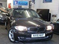 2010 BMW 1 SERIES 2.0 116I SPORT 3d 121 BHP £6250.00