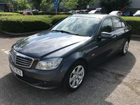 2010 MERCEDES-BENZ C CLASS 2.1 C220 CDI BLUEEFFICIENCY SE 4d AUTO 170 BHP £6493.00