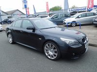 USED 2009 09 BMW 5 SERIES 2.0 520D M SPORT BUSINESS EDITION 4d AUTO 175 BHP FULL SERVICE HISTORY