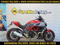 USED 2012 12 DUCATI DIAVEL  GOOD & BAD CREDIT ACCEPTED, OVER 500+ BIKES