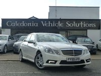 2009 MERCEDES-BENZ E CLASS 3.0 E350 CDI BLUEEFFICIENCY SPORT 4d 231 BHP £11888.00