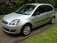 2007 FORD FIESTA 1.2 STYLE 16V 3d 78 BHP £1300.00