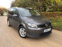 USED 2011 61 VOLKSWAGEN TOURAN 1.4 SE TSI 5d 142 BHP PLEASE CALL TO VIEW 7 SEATS LOW MILES