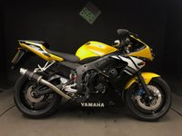 2003 YAMAHA R6 03. 7500. LTD EDN. RACE CAN. OUTSTANDING CONDITION £3995.00
