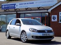 USED 2010 60 VOLKSWAGEN GOLF 2.0 GT TDI 5d 138 BHP *ONLY 9.9% APR with FREE Servicing*