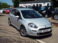 2013 FIAT PUNTO 1.4 GBT 5d 77 BHP £4995.00