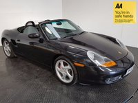 USED 2002 PORSCHE BOXSTER 3.2 S 2d 248 BHP FSH-LEATHER-A/C-ALLOYS