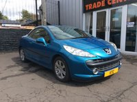 USED 2008 57 PEUGEOT 207 1.6 SPORT COUPE CABRIOLET 2d 118 BHP