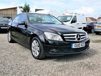 2010 MERCEDES-BENZ C CLASS 1.6 C180 K BLUEEFFICIENCY EXECUTIVE SE 4d 156 BHP £5200.00