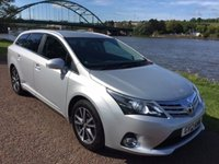 USED 2012 12 TOYOTA AVENSIS 2.0 TR D-4D 5d 124 BHP £30 PER YEAR TO TAX