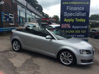 USED 2010 60 AUDI A3 2.0 TDI SPORT 2d 138 BHP Convertible, 81000 miles *****FINANCE ARRANGED*****