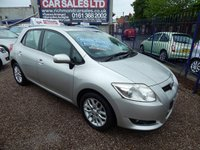 USED 2007 07 TOYOTA AURIS 1.6 TR VVT-I MM 5d 122 BHP ALLY WHEELS, AIR CON, BODY COLOURED BUMPERS