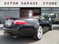 USED 2007 07 JAGUAR XK 4.2 XKR 2d CONVERTIBLE AUTO 416 BHP ** 20 INCH ALLOYS * HEATED LEATHER **