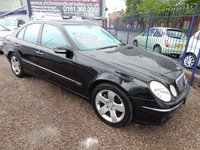 USED 2004 04 MERCEDES-BENZ E CLASS 3.2 E320 CDI AVANTGARDE 4d AUTO 204 BHP 1/2 LEATHER INTERIOR, ALLOYS, F.S.H, GREAT VALUE