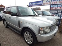 USED 2005 04 LAND ROVER RANGE ROVER 2.9 TD6 VOGUE SE 5d AUTO 175 BHP GREY LEATHER HEATED SEATS, SUNROOF, SAT NAV, F.S.H