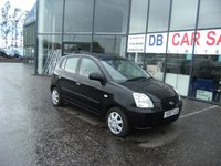 USED 2007 07 KIA PICANTO 1.0 GS 5d 60 BHP £0 DEPOSIT, LOW RATE FINANCE ANYONE, DRIVE AWAY TODAY!!