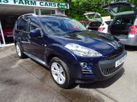 USED 2010 10 PEUGEOT 4007 2.2 GT HDI 5d 156 BHP 7 SEATER 7 Seater, Low Mileage, Full Service History, MOT until January 2018, One Previous Owner, Four Wheel Drive, Diesel
