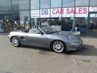USED 2003 02 PORSCHE BOXSTER 2.7 SPYDER 2d 228 BHP £0 DEPOSIT, LOW RATE FINANCE ANYONE, DRIVE AWAY TODAY!!