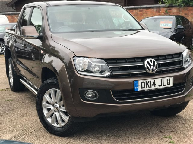2014 14 VOLKSWAGEN AMAROK 2.0 BiTDi BlueMotion Tech Highline Per Pickup 4Motion 4dr (3.17t)