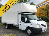 USED 2012 12 FORD TRANSIT 2.2TDCi 125 350EF Luton 13.ft Box Body DRW Ex Lease Free UK Delivery