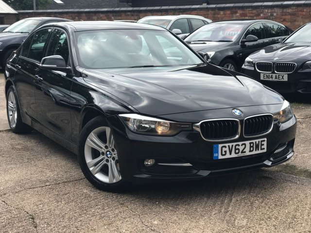 2012 62 BMW 3 SERIES 2.0 320d Sport 4dr (start/stop)