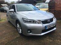 2012 LEXUS CT 1.8 SE-L Premier CVT 5dr £9750.00