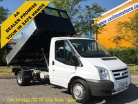 USED 2009 09 FORD TRANSIT 2.4TDCi 115 T350m Tipper [ New Build 10.5ft Alloy Body ] Low Mileage Free UK Delivery