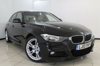 USED 2013 13 BMW 3 SERIES 2.0 320I M SPORT 4DR 181 BHP LEATHER SEATS + 0% FINANCE AVAILABLE T&C'S APPLY + CLIMATE CONTROL + SAT NAVIGATION PROFESSIONAL + PARKING SENSORS + CRUISE CONTROL + BLUETOOTH