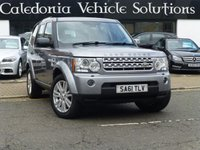 USED 2011 61 LAND ROVER DISCOVERY 3.0 4 SDV6 XS 5d AUTO 255 BHP ONE OWNER FROM NEW, FULL HISTORY & 12 MONTHS MOT