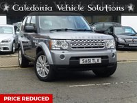 2011 LAND ROVER DISCOVERY 3.0 4 SDV6 XS 5d AUTO 255 BHP £16888.00