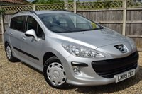 USED 2009 09 PEUGEOT 308 1.6 SW S HDI 5d 89 BHP Free 12  month warranty