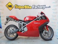 USED 2005 05 DUCATI 999 BIP  GOOD & BAD CREDIT ACCEPTED, OVER 300+ BIKES
