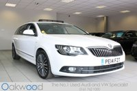 2014 SKODA SUPERB 2.0 TDI CR LAURIN AND KLEMENT 5d 140 BHP £13485.00